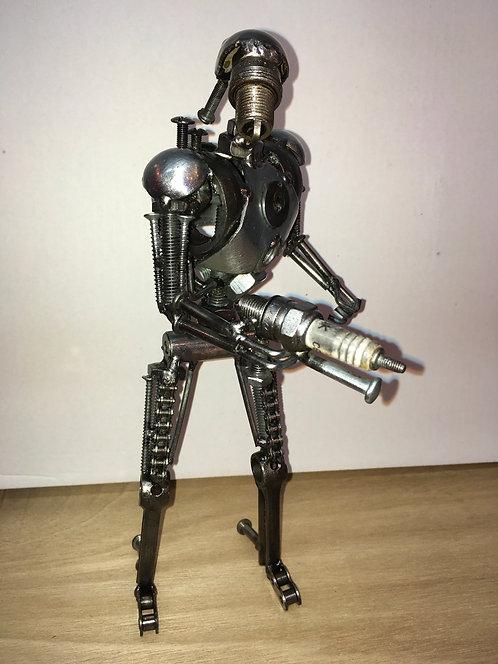 Droid metal art