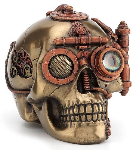 Bronze Skull Trinket Box