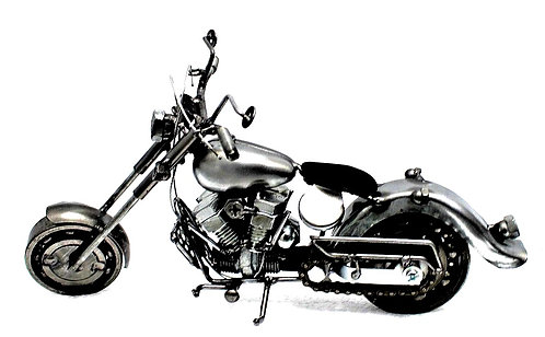 Large Motorcycle metal art small