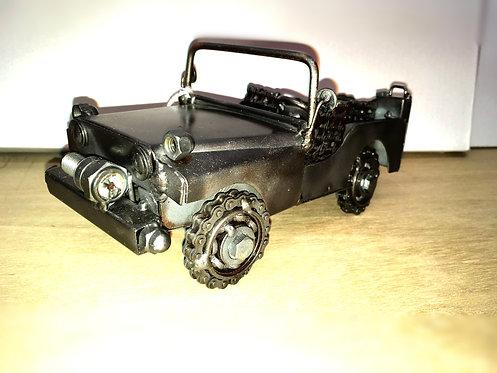 Metal Jeep