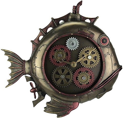 Deep Sea Dweller Fish Clock