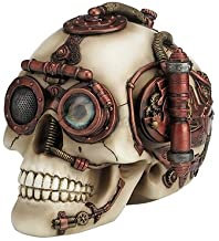 White Skull Trinket Box