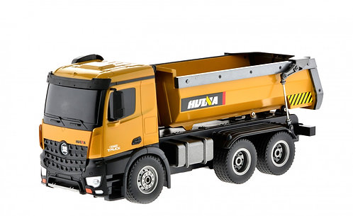 Large Alloy Dump Truck 1/14