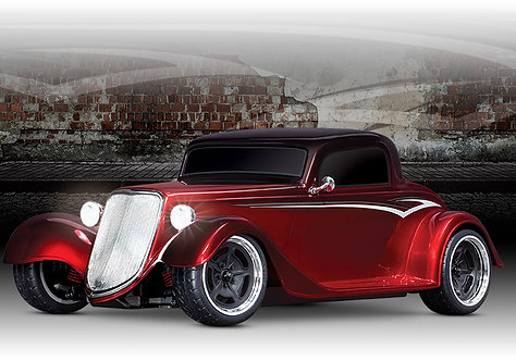 1933 Hot Rod Coupe 30+mph 1/10