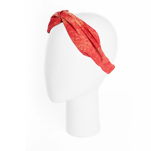 Kork Bandana - WASHED RED
