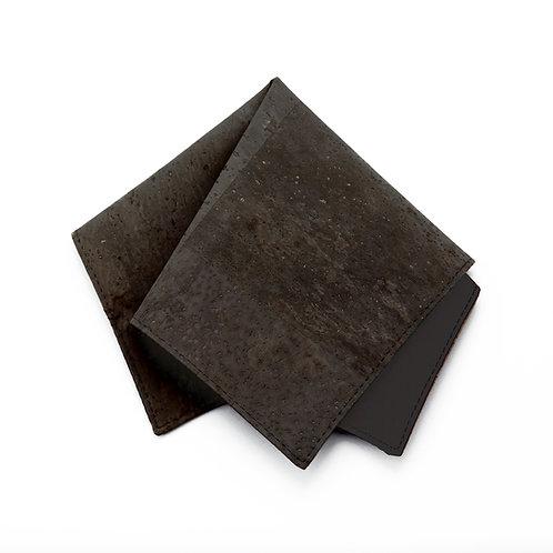 Kork Einstecktuch - BLACK