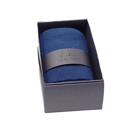 Bauwollsocken BLUE