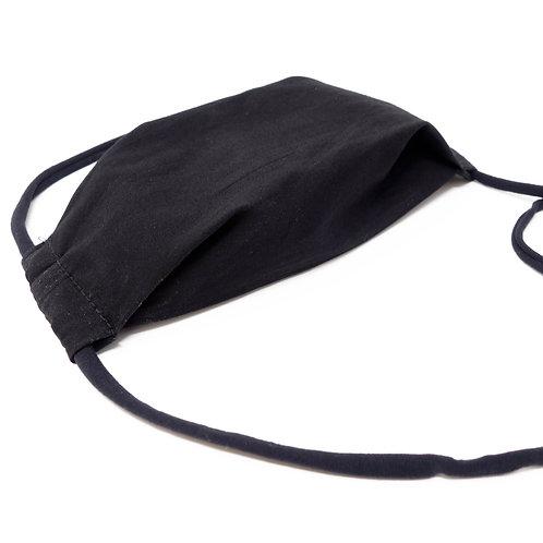 Mund-Nase-Maske Schwarz