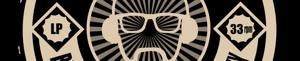 Nouveau logo pour mon identité visuelle de DJ // 14 février 2018