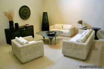 sala de estar pedra