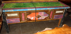console  madeira de barco 200 x 60 x 80