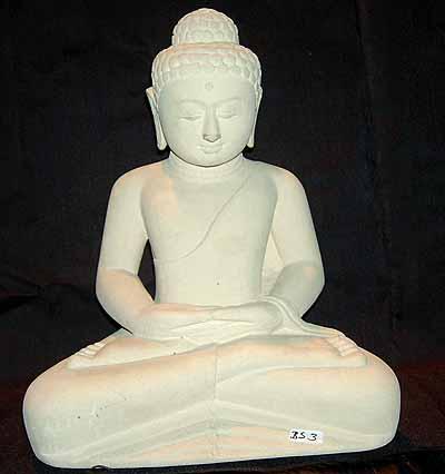 Escultura Sittingbudhawhite