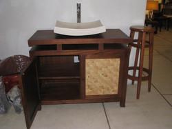 gabinete e lavatório