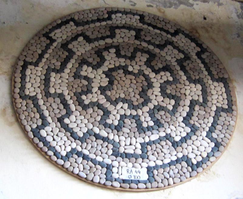 Carpet  mosaico de pedra 13.