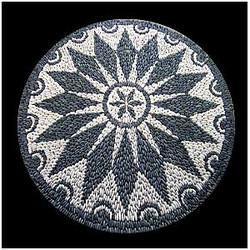 SCSRoseton1 mosaico de pedra