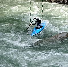 Canoe competition, Meran, ITA, 2019