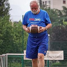 Mr. Argeo Tisma, the head coach of Giants Bolzano