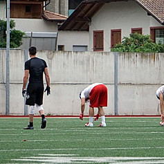 Giants Bolzano practise