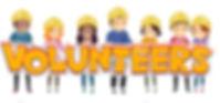 84077604-バッター-イラスト単語ボランティアの呪文紙カットアウトを持って