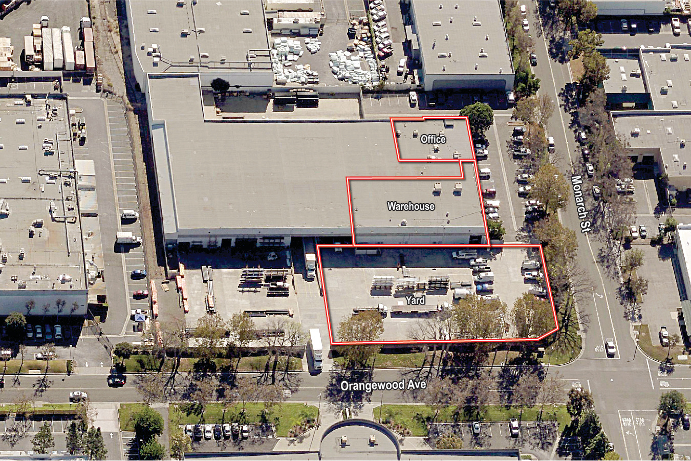 11552 Monarch St, Garden Grove Oblique from North_30k sf yard