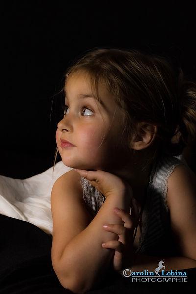 Kind im Studio, Carolin Lobina