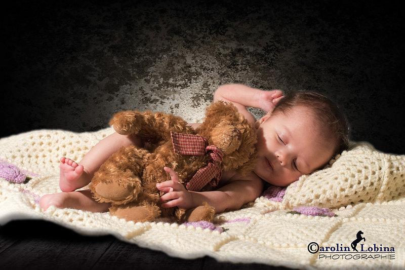 Baby im Korb, Babyfoto, Carolin Lobina