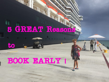5 Reasons to Book a Cruise TWO Years Out!