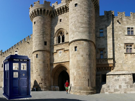 Until we can Time Travel – Old Rhodes will have to do!