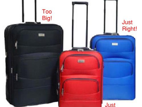 Travel Like an Architect™ – Baggage Restrictions