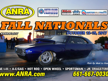 ANRA 2017 FALL NATIONALS Oct 13-15 2017