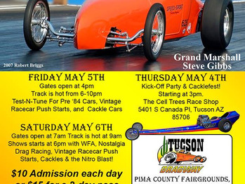 TUCSON DRAGWAY REUNION 2017....Be There!!!