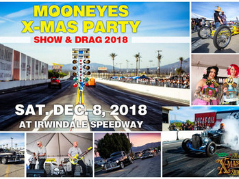 ATTENTION IN THE PITS! Never to early to plan for the MOONEYES X-MAS PARTY!