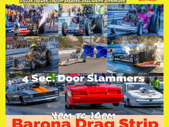 NITRO SHOOTOUT 2 BARONA Dragstrip! Lots of unfinished business to be had!