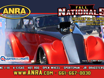 ANRA FALL NATIONALS!  Time to head to the Patch for some great racing action! Oct 12-14th