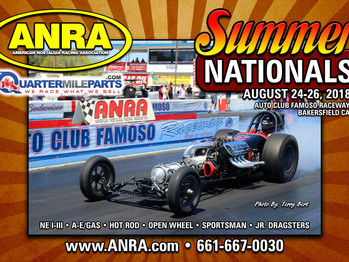 ATTENTION IN THE PITS!!!  ANRA Summer Nationals are coming up!