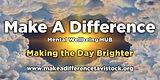 make a difference tavistock banner