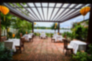 Dining Room at Riverside Cafe
