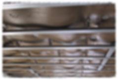 Пример обработки стены и потолка  минеральными мембранами