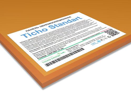 Ticho Standart панель звукоизоляционная; размеры 1200*800*12 мм, вес 16,7 кг