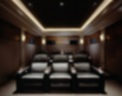 Акустические решения для кинотеатров и комнат прослушивания