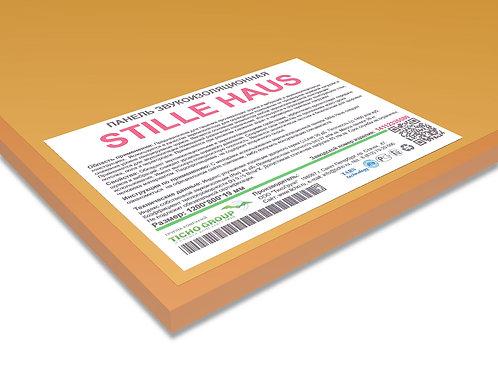 Stille Haus  панель звукоизоляционная;  размеры 1220*820*19 мм, вес 26 кг