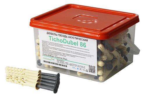 Дюбель-гвоздь акустический TichoDubel 86, 70 шт, 8*60 мм