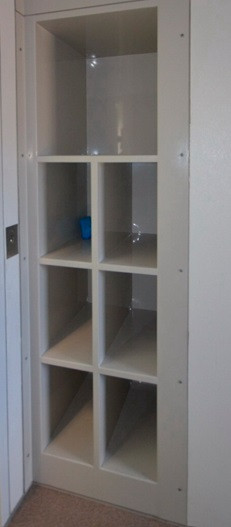 Prison Shelving Unit