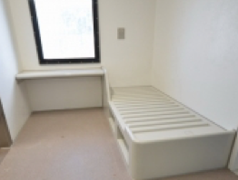 Prison Bed and Desk