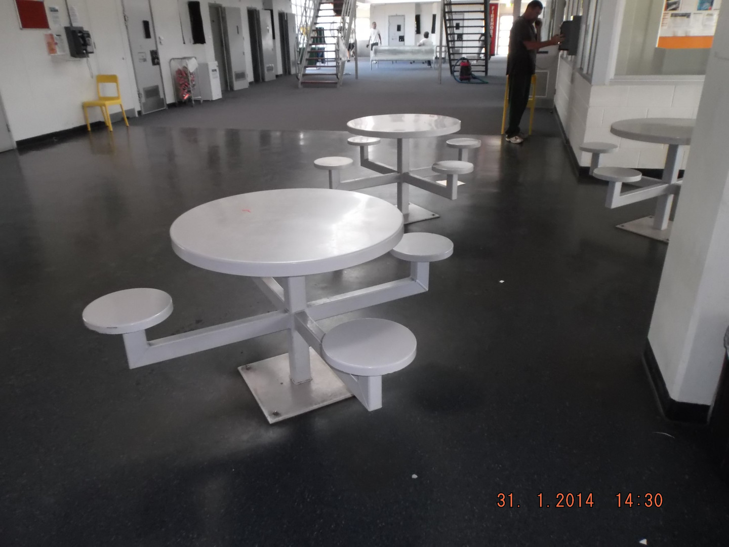 Prison Group Seating