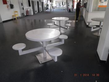 Prison Group Seating