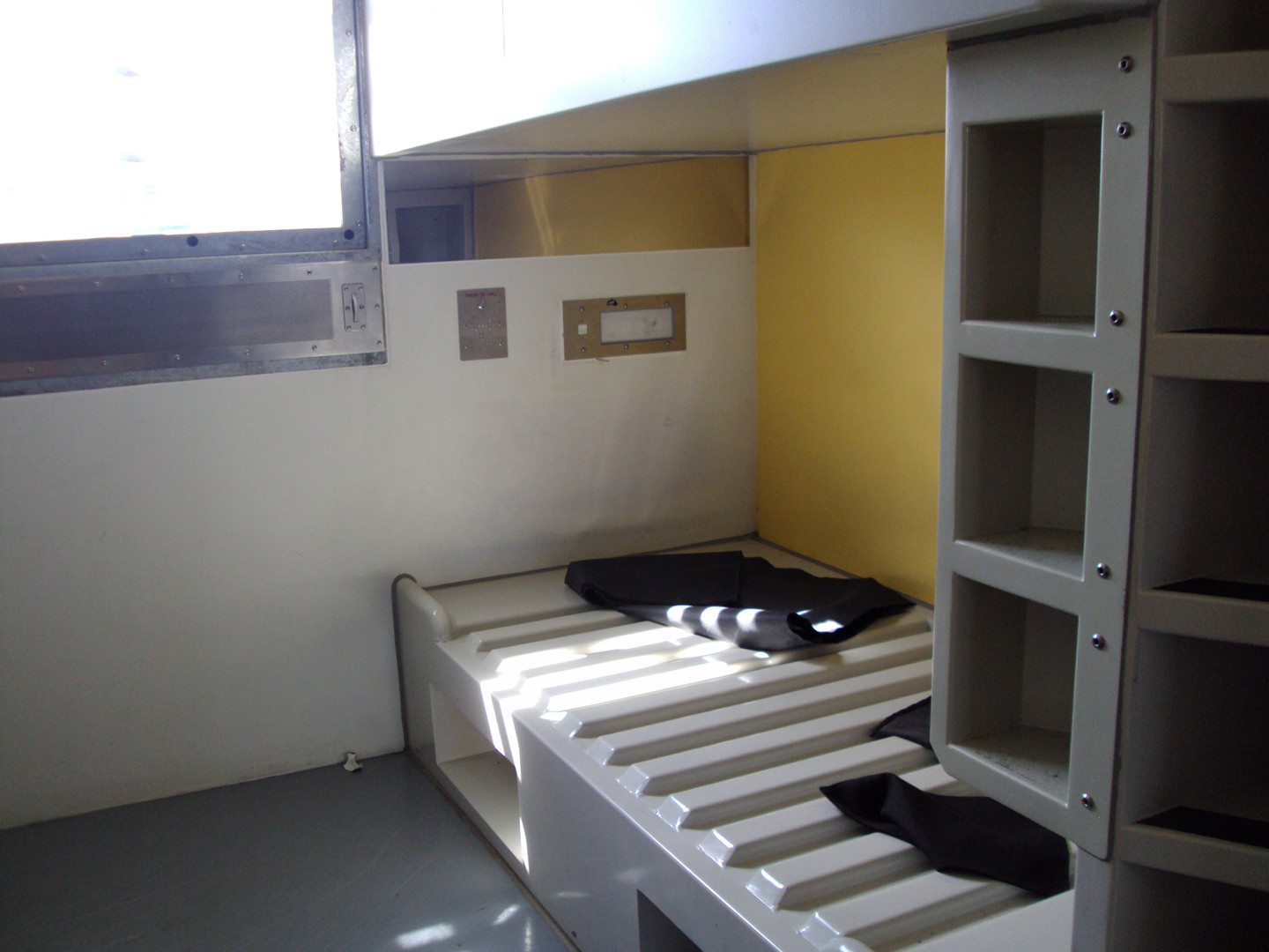 Prison Bed and Shelving
