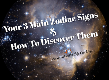 Your 3 Main Zodiac Signs & How To Discover Them