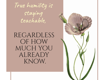 3 Simple Steps For Practicing Humility