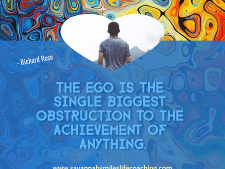 """The Secret Of... """"Not Allowing Your Ego To Be Offended"""""""